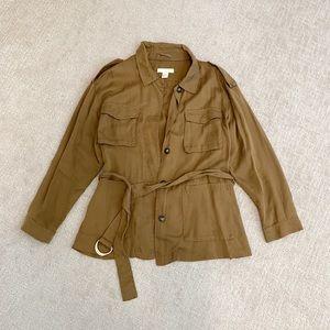 H&M Cargo Camel Jacket / Overshirt